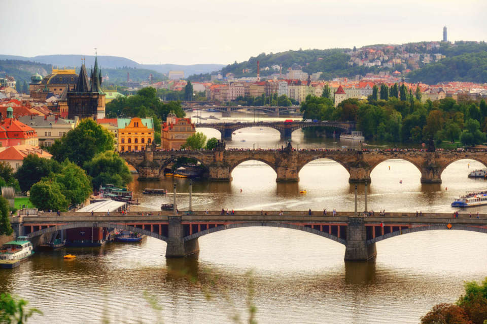 Moldau Brücken