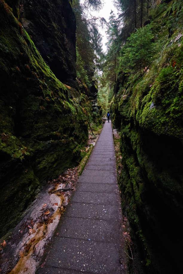 Wildromantische Wanderwege