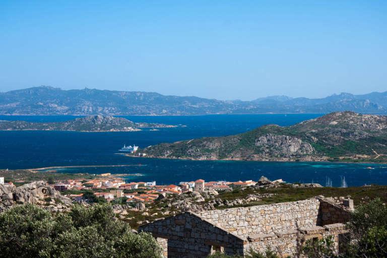 Blick Auf La Maddalena