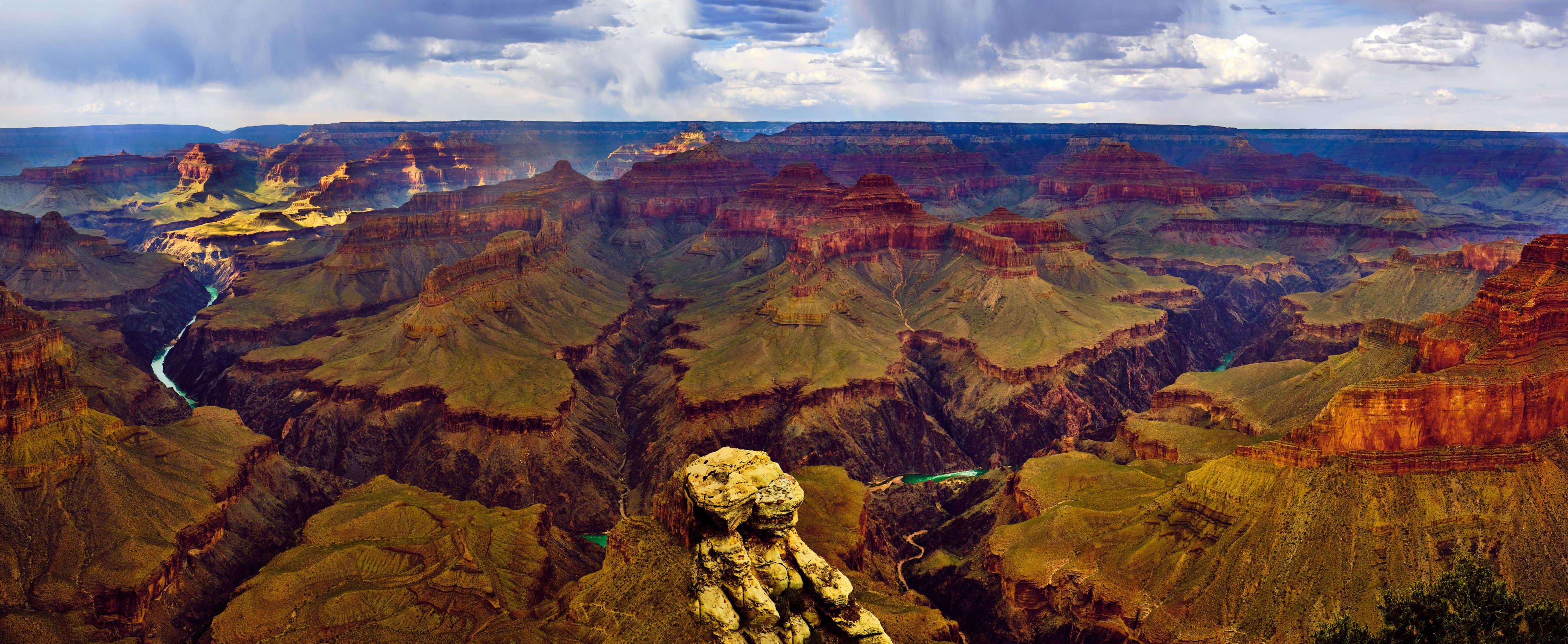 Grand Canyon South Panorama 9